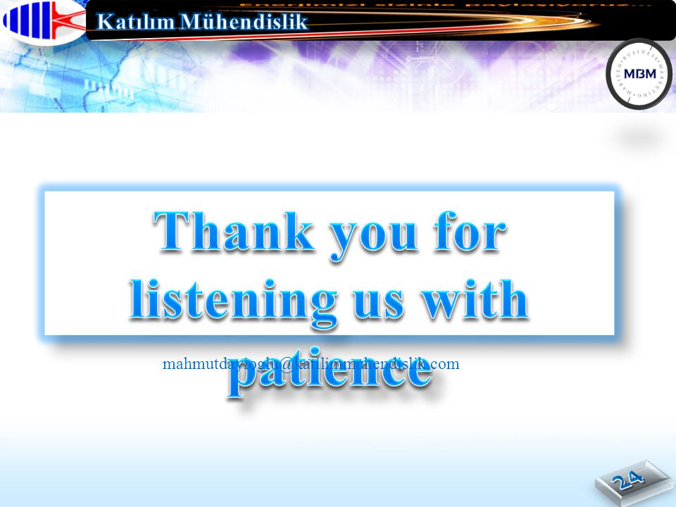 Thank you for listening us with patience