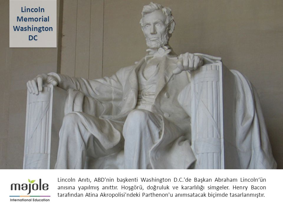 parthenon and lincoln memorial essay Essay questions: why are the coliseum and the parthenon considered to be the greatest and ancient architectural creations of humanity the parthenon was built in the 5th century bc and it was pericles a famous athenian politician who carried out the idea of building this temple.