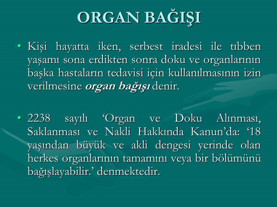Organ Nakli Haftasi 3 9 Kasim Ppt Video Online Indir