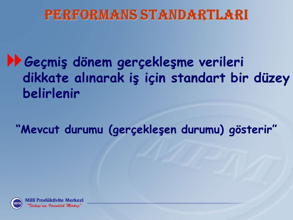 PERFORMANS STANDARTLARI