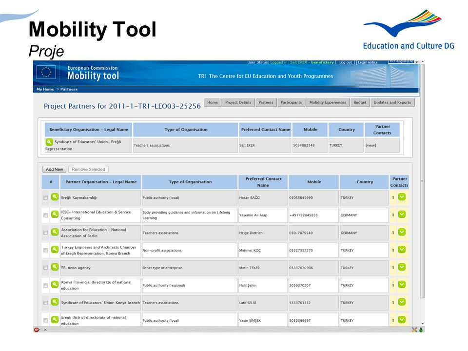 Mobility Tool Proje