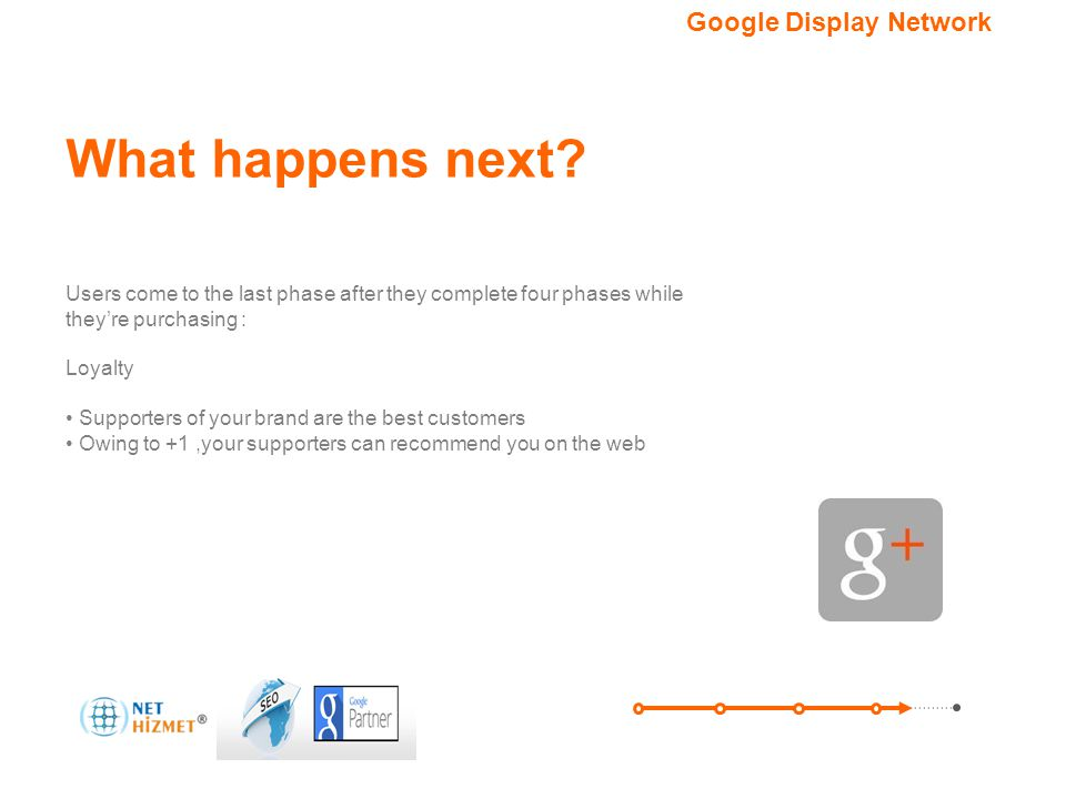 What happens next Google Display Network