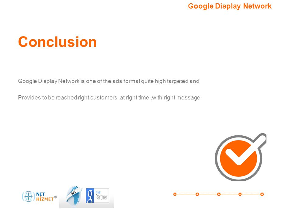 Conclusion Google Display Network