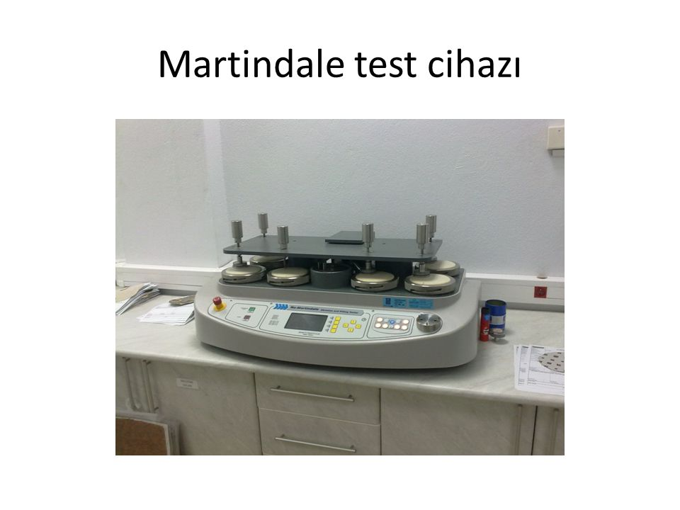Martindale test cihazı