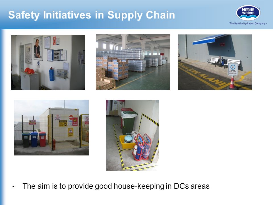 Safety Initiatives in Supply Chain
