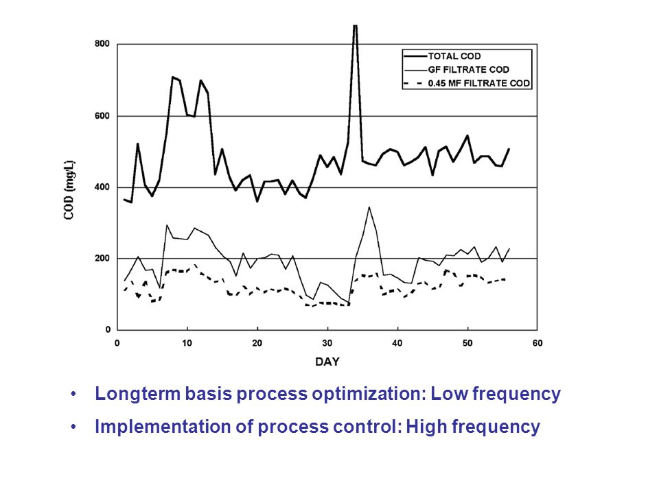 Longterm basis process optimization: Low frequency