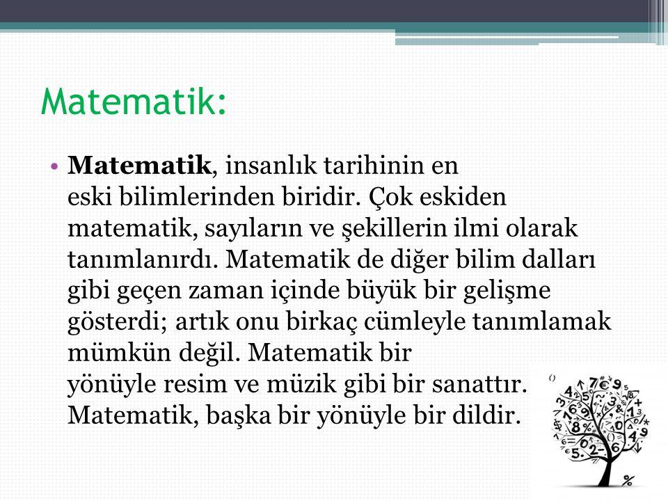 Atatürkün Matematik Alaninda Yaptiği çalişmalar Ppt Video Online