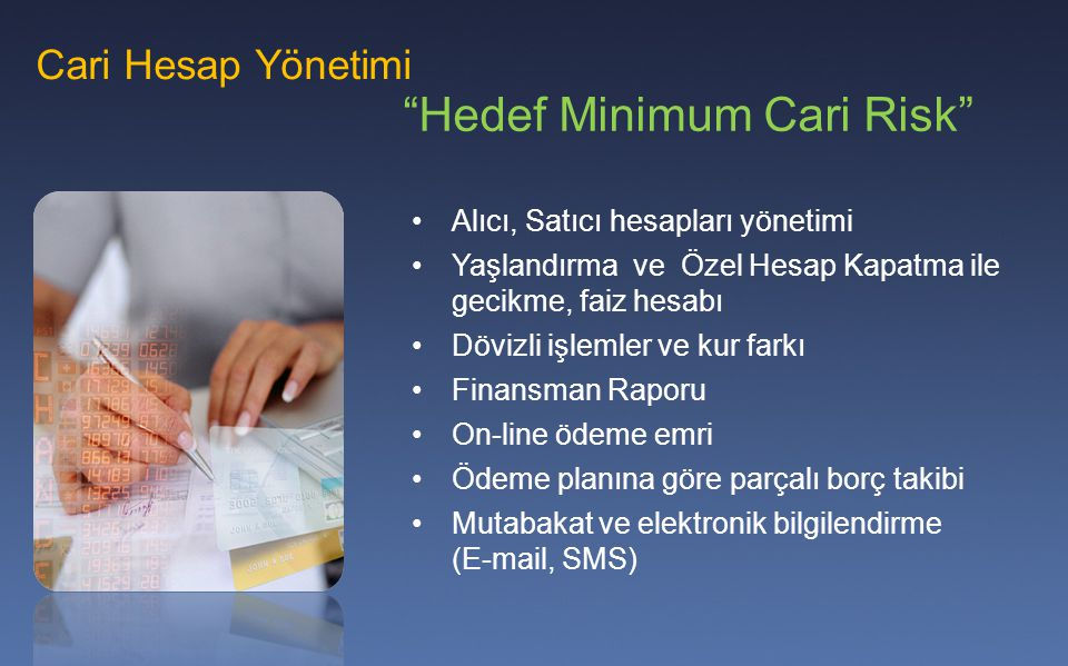 Hedef Minimum Cari Risk