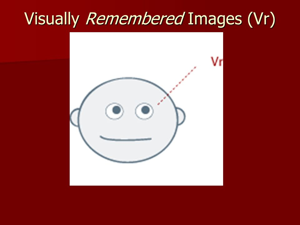 Visually Remembered Images (Vr)
