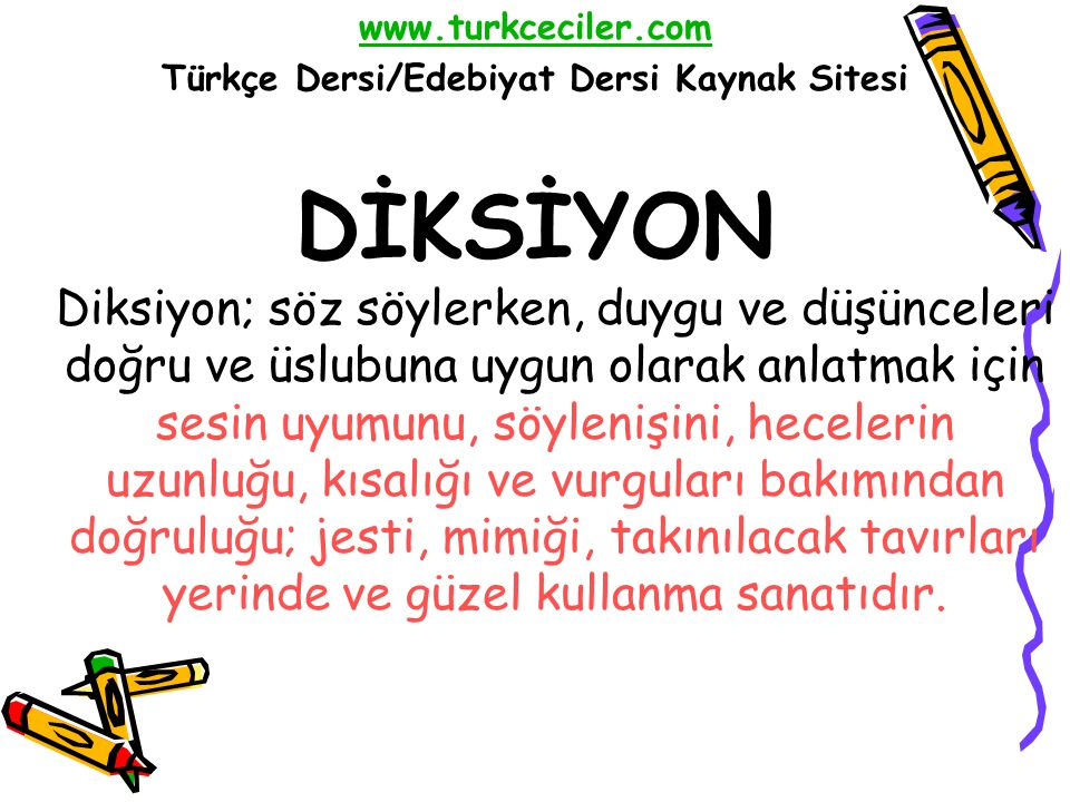 türkçe dersi edebiyat dersi kaynak sitesi ppt indir
