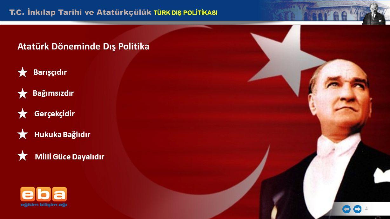 Ataturk Donemi Turk Dis Politikasi