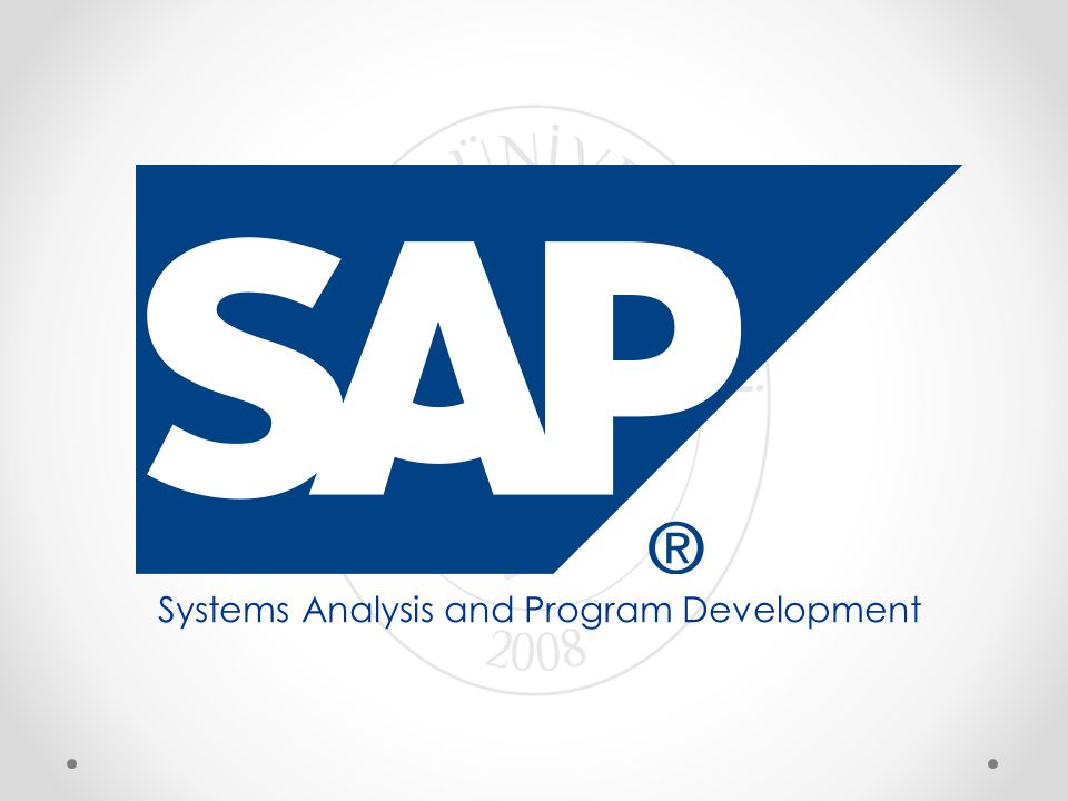 Systems Analysis and Program Development