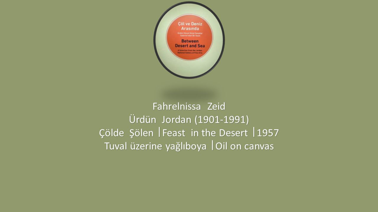 Çölde Şölen ᅵFeast in the Desert ᅵ1957