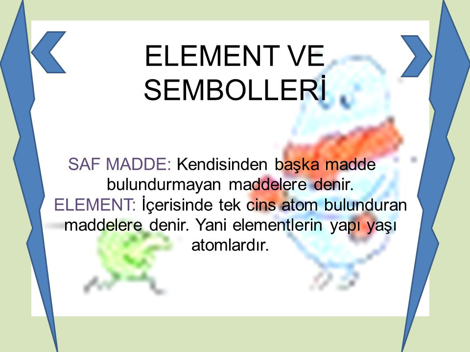 ELEMENT VE SEMBOLLERİ