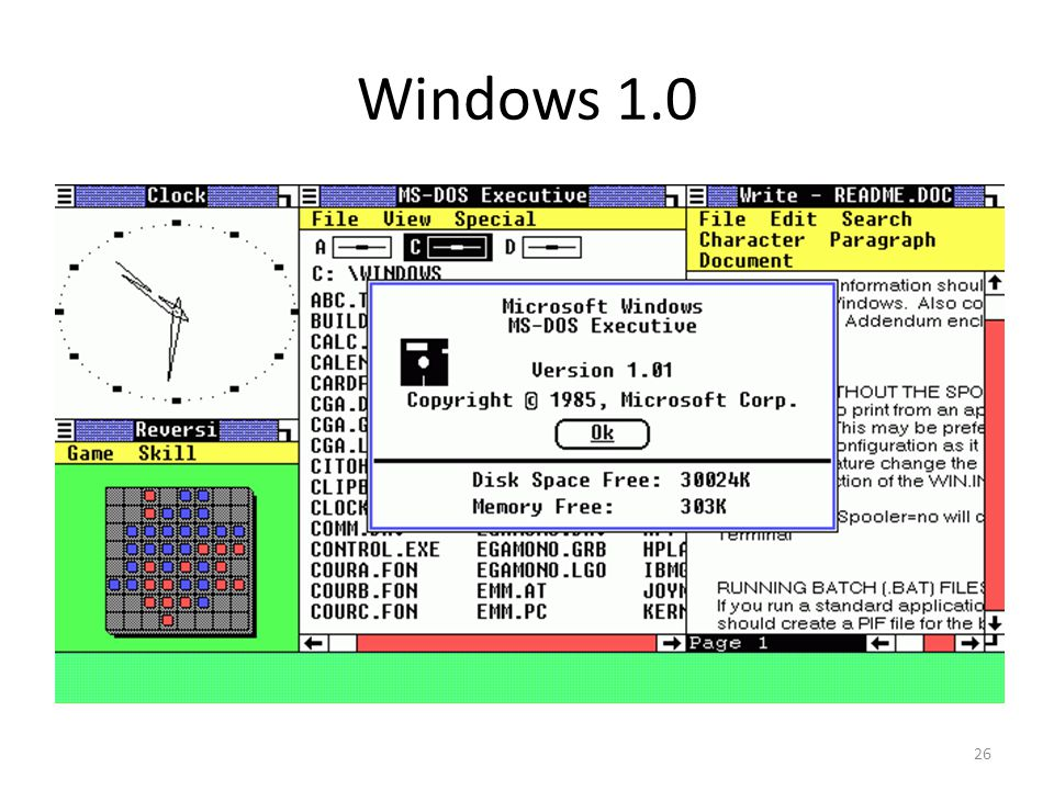 Windows 1.0