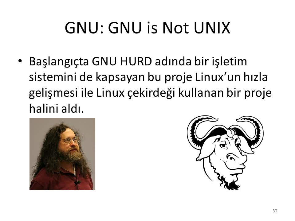 GNU: GNU is Not UNIX
