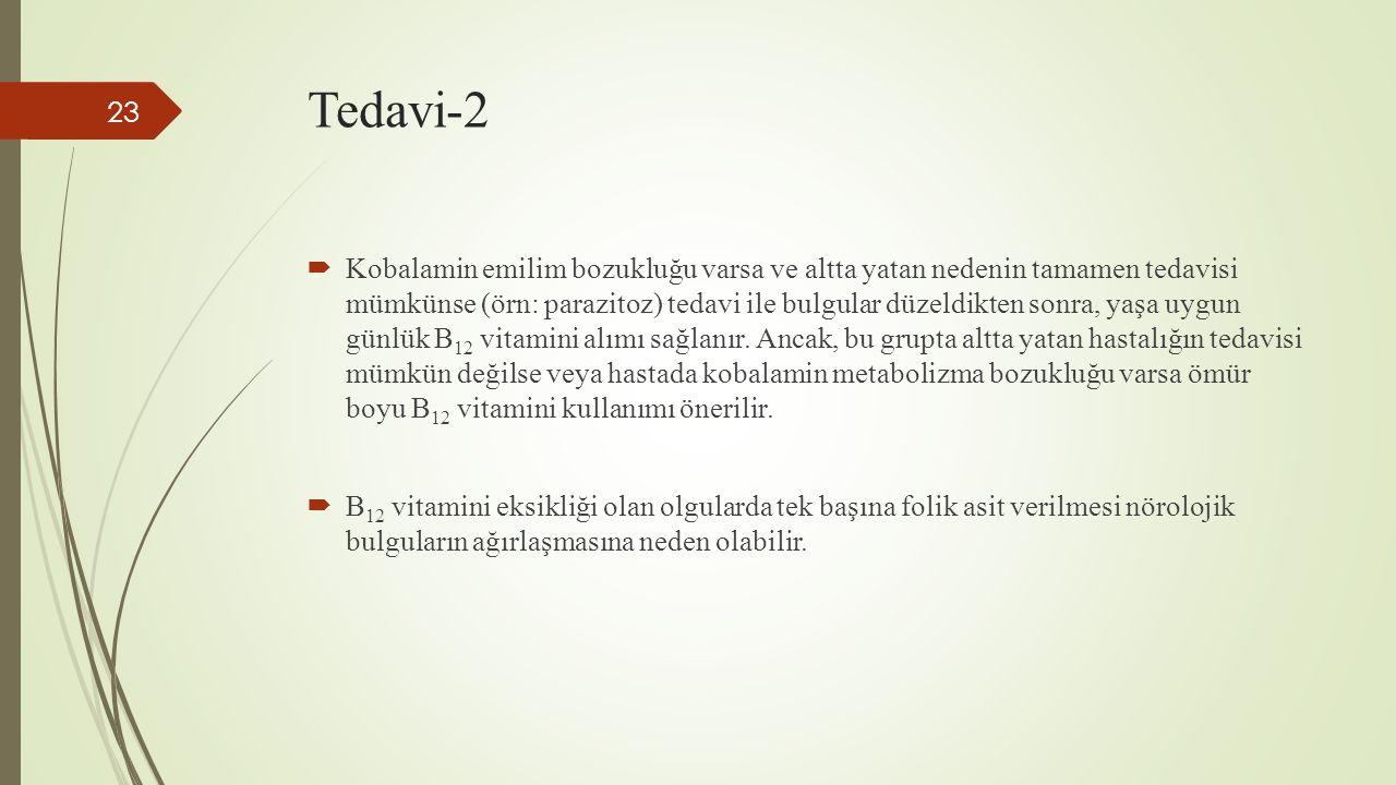 Tiyamin (B1) eksikliğinin belirtileri nelerdir
