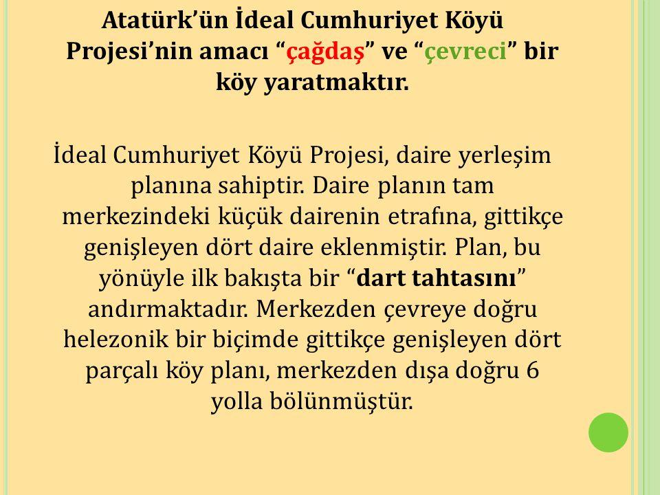 atatürkün cumhuriyet köyü projesi ile ilgili görsel sonucu