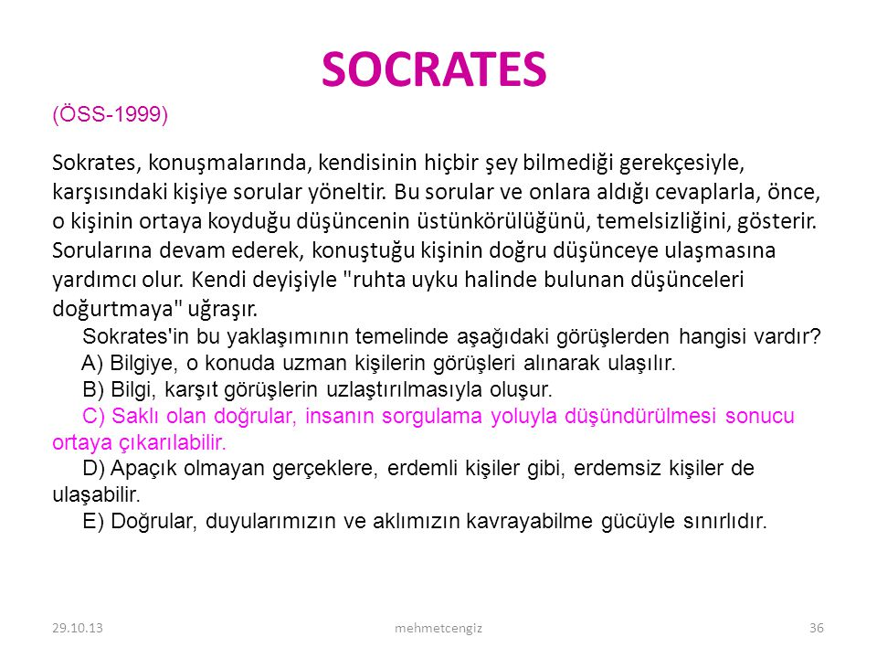 SOCRATES <header> <date/time> <footer>