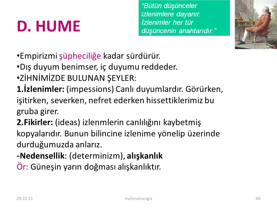 D. HUME <header> <date/time>