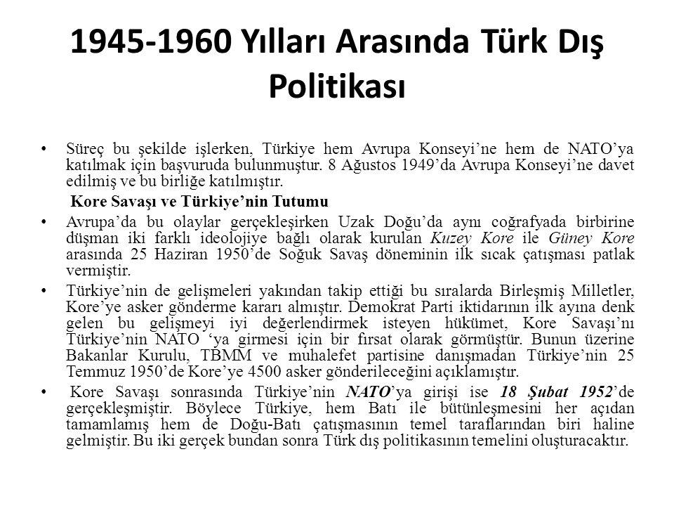 Iki Savas Sirasinda ve Arasinda Turk Dis Politikasi