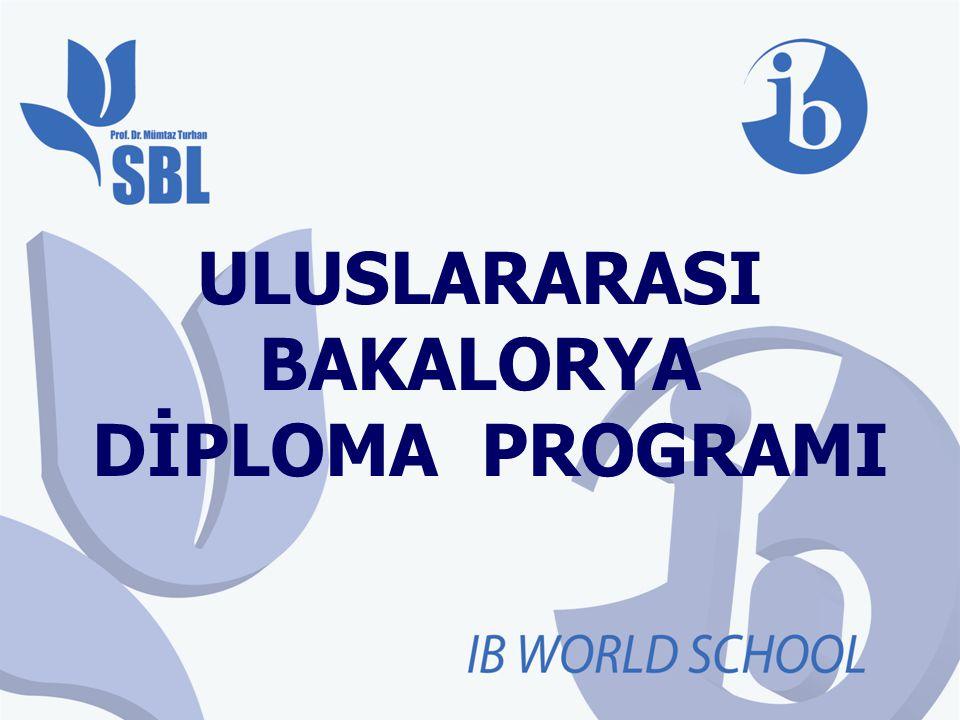 Uluslararası Bakalorya Programı 60
