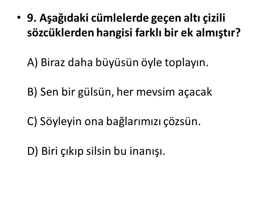 Türkçede Ekler Ppt Indir