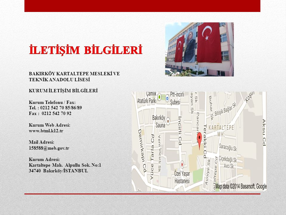 Bakirköy Kartaltepe Mesleki Ve Teknik Anadolu Lisesi Ppt Indir