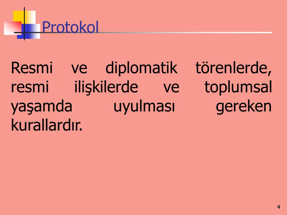 Diplomatik protokol ve görgü kuralları