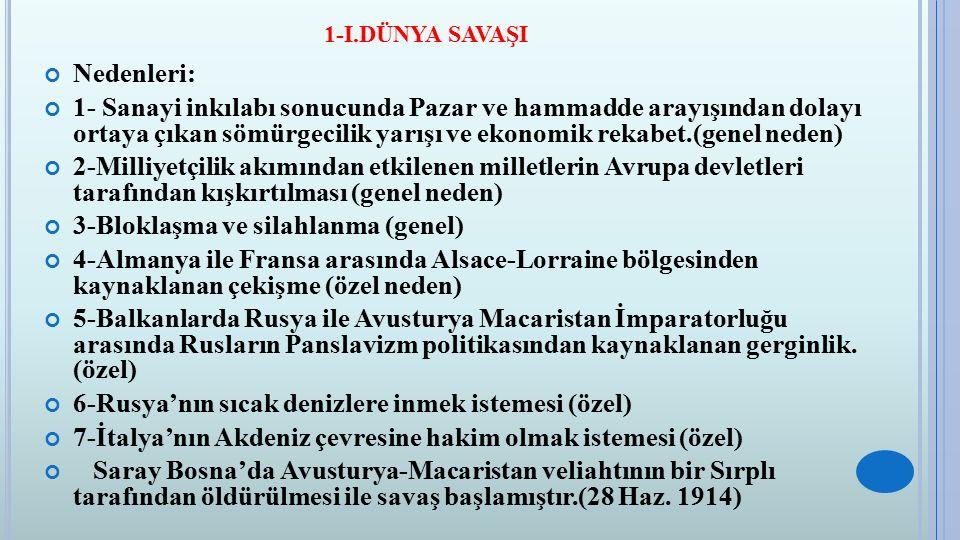 çağdaş Türk Ve Dünya Tarihi Ders Notlari Ppt Indir