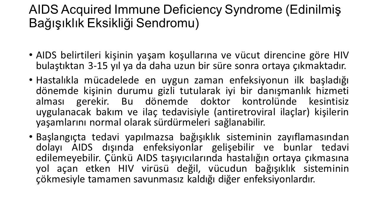 a description of acquired immune deficiency syndrome which was recognized since 1981 Aids, also known as acquired immune deficiency syndrome, which is the final and fatal hiv weakens the immune system until the person is diagnosed with aids however, not all people with hiv get aids since 1981, when aids was first recognized, forty-seven million people in the world have.