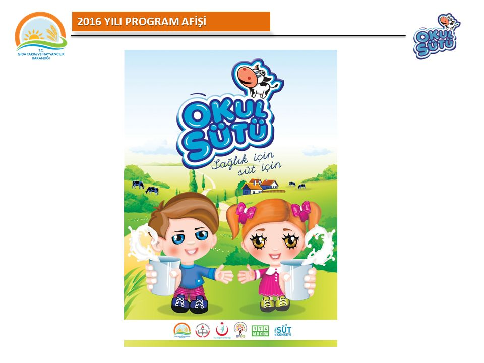2016 YILI PROGRAM AFİŞİ